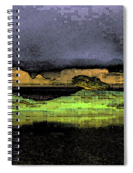 Digital Powell Spiral Notebook