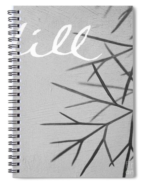 Dill Spiral Notebook by Linda Woods