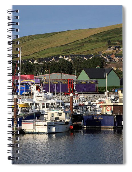 Dingle Harbour County Kerry Ireland Spiral Notebook