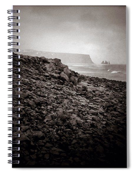 Distant Stacks Spiral Notebook
