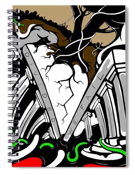 Divided Spiral Notebook