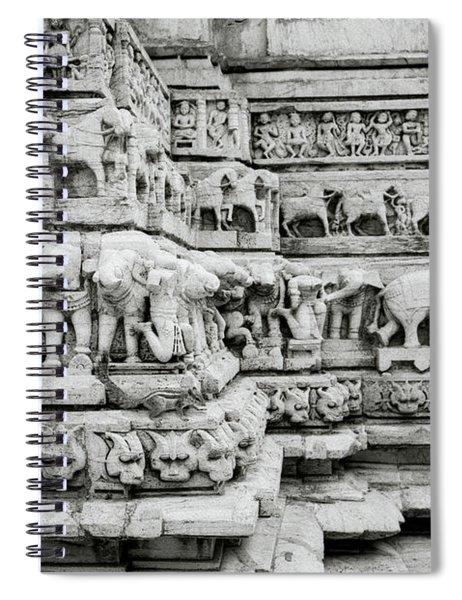 Divine Beauty Spiral Notebook