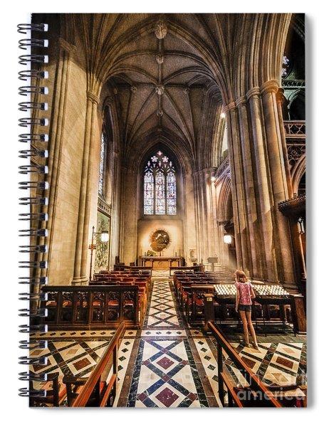 Divine Light Spiral Notebook