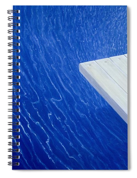 Diving Board 2004 Spiral Notebook