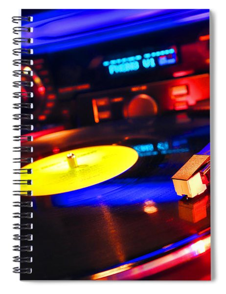 Dj 's Delight Spiral Notebook