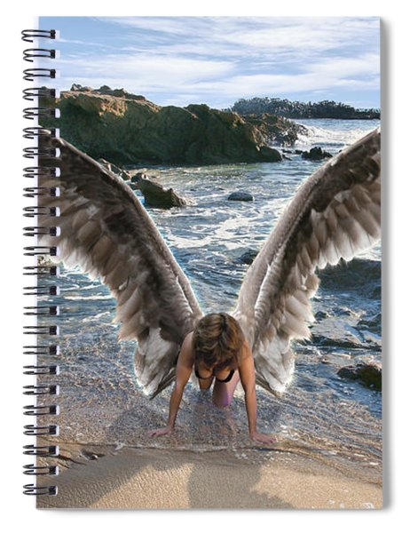 Do Not Fear I Have Come In Your Defense Spiral Notebook