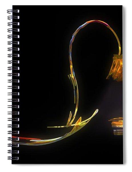 Do Not Go Gentle Spiral Notebook