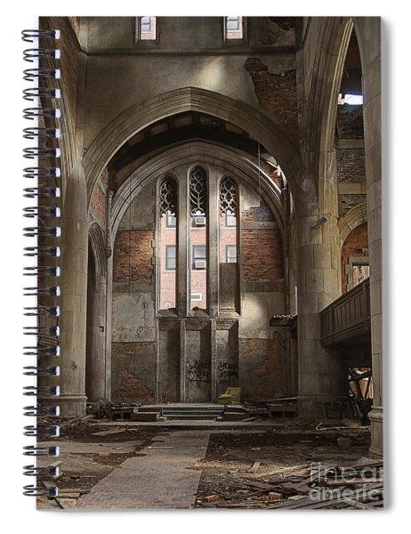 Do Not Go Gently Spiral Notebook
