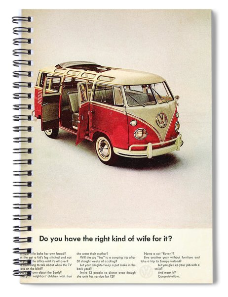 Do You Have The Right Kind Of Wife For It Spiral Notebook