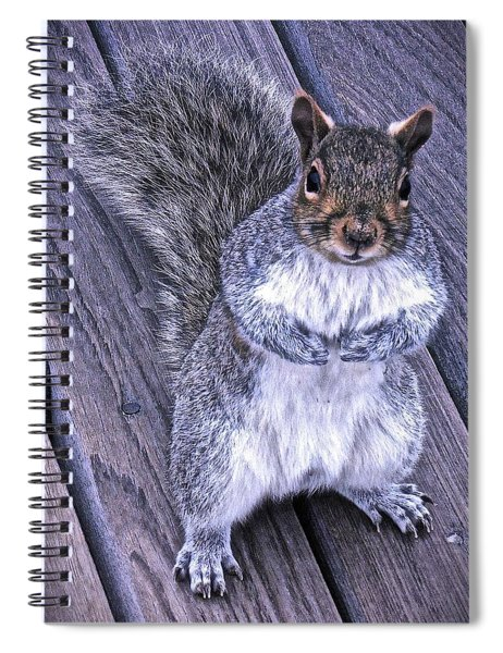 Do You Think I'm Cute Spiral Notebook