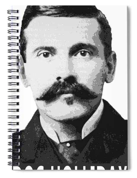 Doc Holliday Of The Old West Spiral Notebook