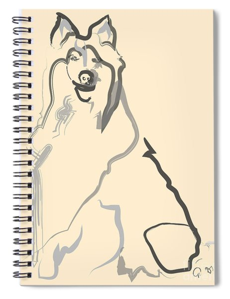 Dog - Lassie Spiral Notebook