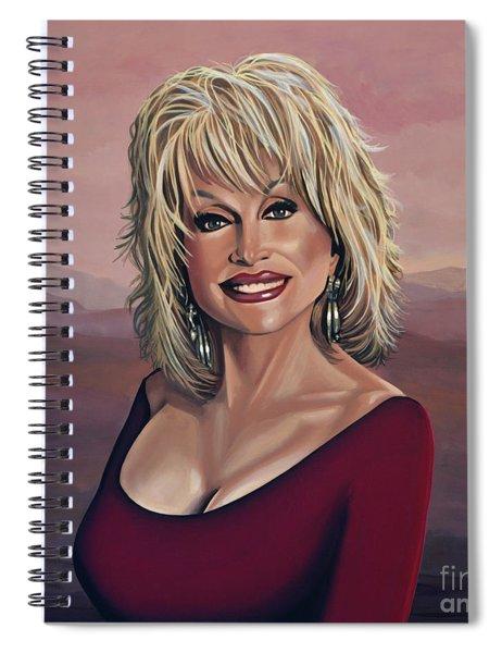 Dolly Parton 2 Spiral Notebook