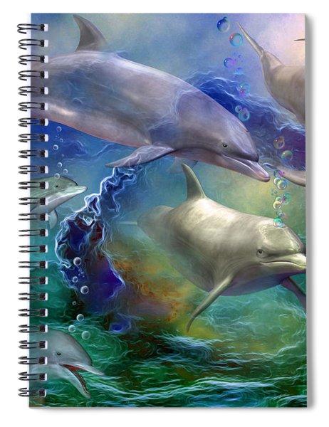 Dolphin Dream Spiral Notebook