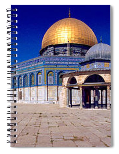 Dome Of The Rock, Temple Mount Spiral Notebook