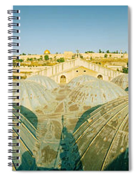 Domes At The Church Of All Nations Spiral Notebook