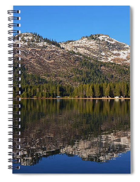 Donner Lake Reflection Spiral Notebook