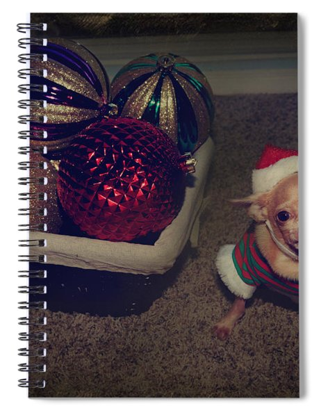 Don't Hang Me On Your Tree Spiral Notebook