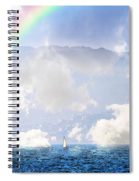 Dont Worry Be Happy Spiral Notebook