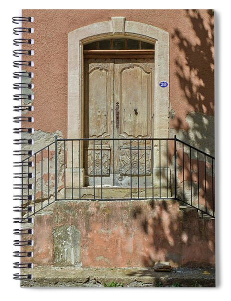 Door And Shadow Spiral Notebook
