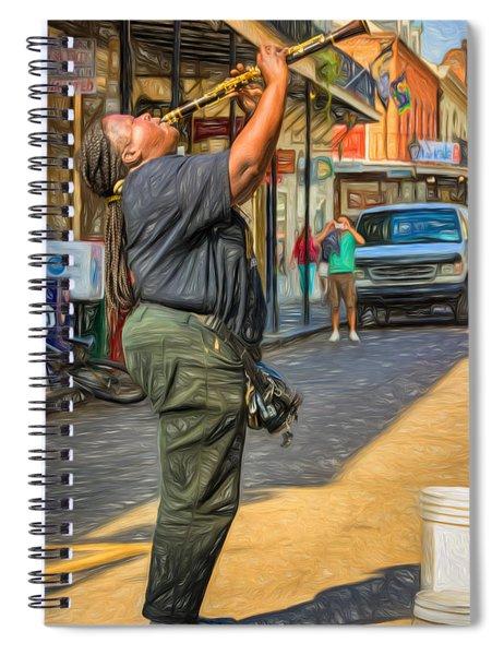 Doreen Ketchens - Paint Spiral Notebook