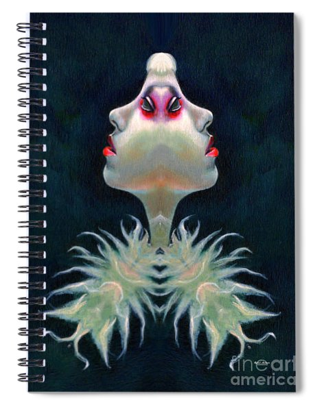 Double Faced Spiral Notebook