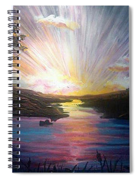 Down To The River Spiral Notebook