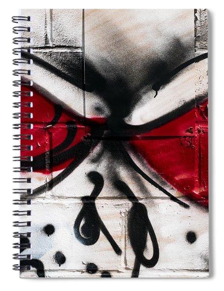 Street Art Spiral Notebook