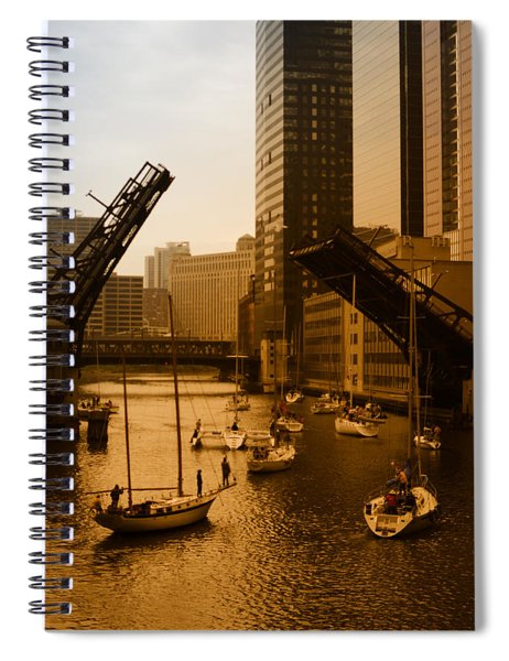 Downtown Chicago Spiral Notebook