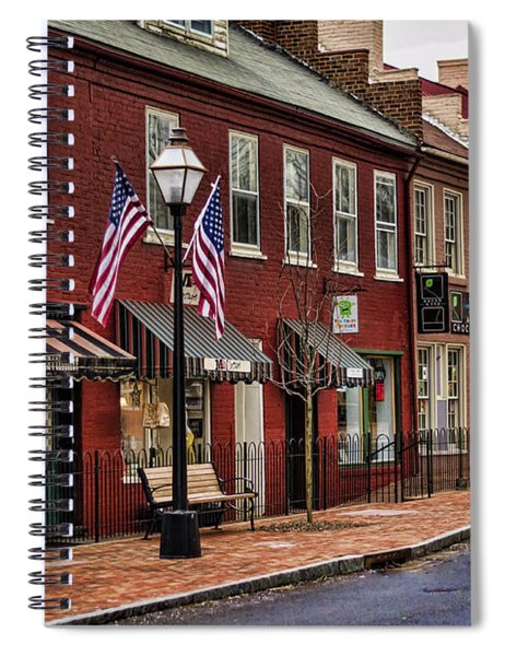 Downtown Jonesborough Tn Spiral Notebook