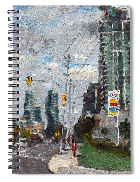 Downtown Mississauga On Spiral Notebook