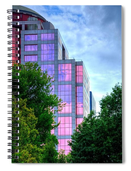 Downtown Reflections 17341 Spiral Notebook