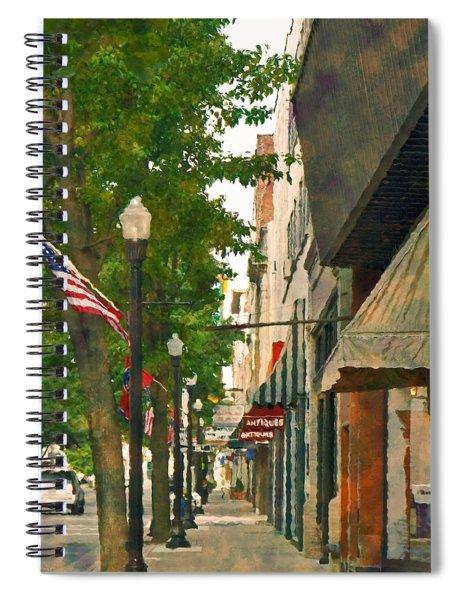 Downtown Usa Spiral Notebook