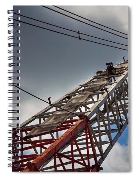 Dragline 553 Spiral Notebook
