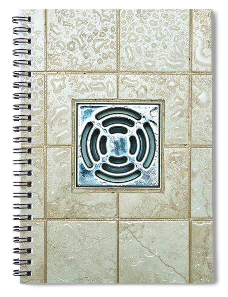 Drain Hole Spiral Notebook