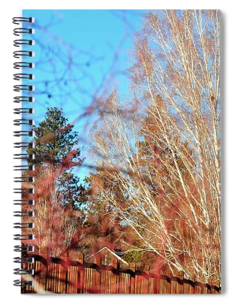 Drake Park Bridge 21655 Spiral Notebook