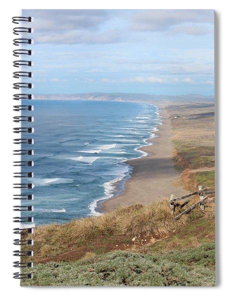 Drakes Beach Spiral Notebook