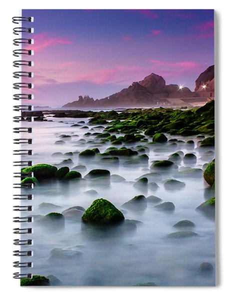 Dream Beach Spiral Notebook