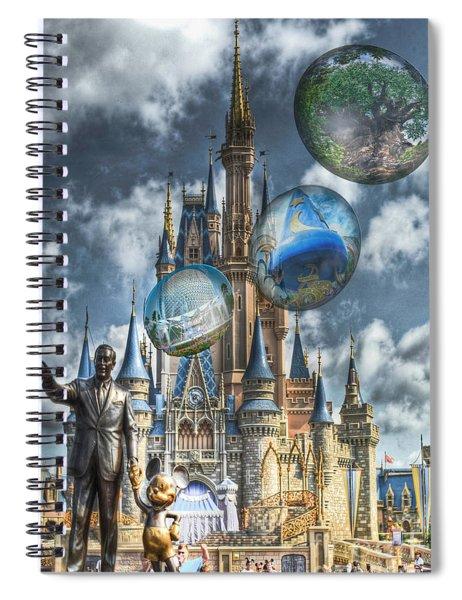 Dreamer Of Dreams Spiral Notebook