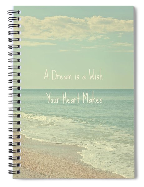 Dreams And Wishes Spiral Notebook