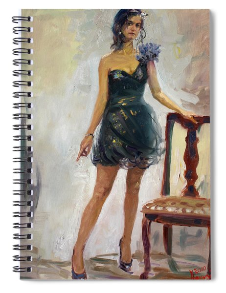 Dressed Up Girl Spiral Notebook