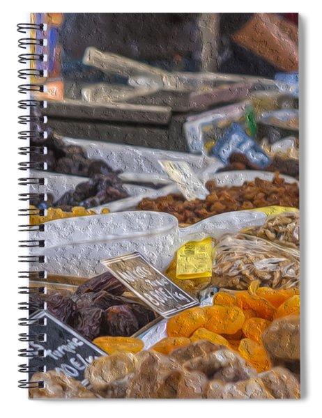 Dried Fruits Spiral Notebook