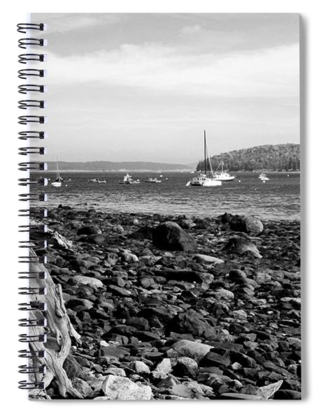 Driftwood And Harbor Spiral Notebook