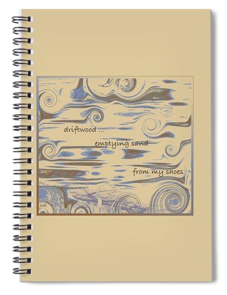 Driftwood Haiga Spiral Notebook