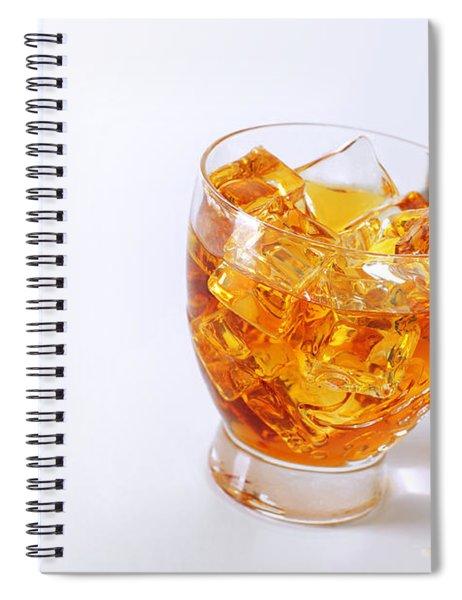 Drink On The Rocks Spiral Notebook