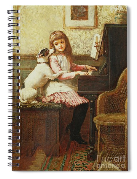 Drink To Me Only With Thine Eyes Spiral Notebook
