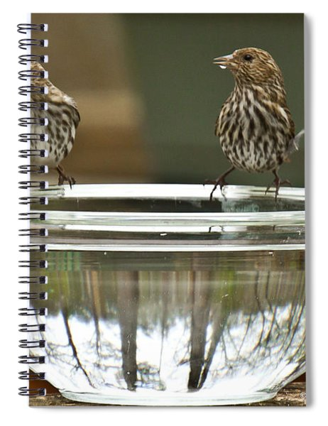 Spiral Notebook featuring the photograph Drink Up by Robert L Jackson