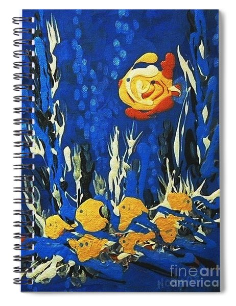 Drizzlefish Spiral Notebook