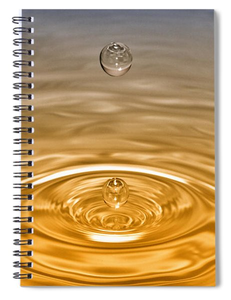 Drops Spiral Notebook