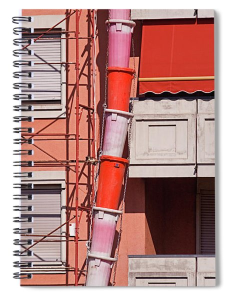 Drum Snake Spiral Notebook